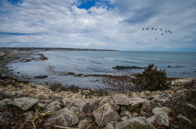 Things to do in Rhode Island Cliff Walk Newport