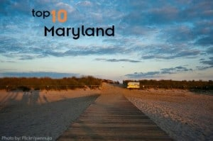Top 10 things to do with kids in Maryland