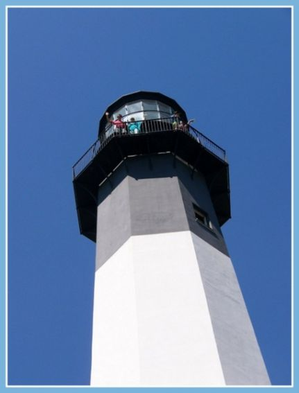 Top of Tybee Lighthouse-001
