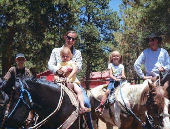 A Family Vacation at Majestic Dude Ranch and a Silver Screen Cowboy Role