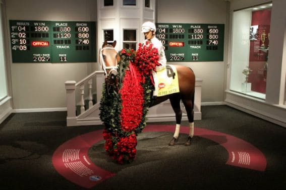 Kentucky Derby Museum Horses