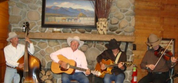Manager Johnny Fisher at the Home Ranch in Clark, Colorado