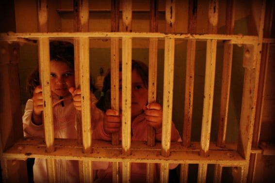 san francisco tourist at Alcatraz