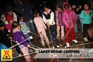 Large Group Camping with small kids