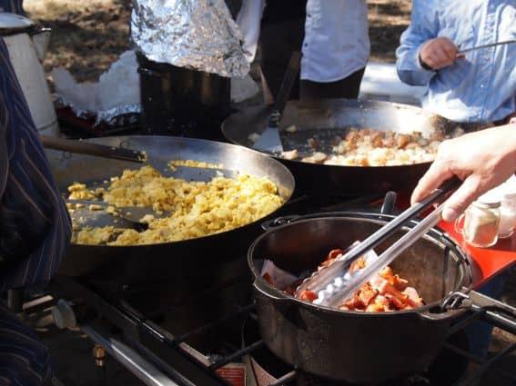 Cowboy Breakfast at Tarryall River Ranch