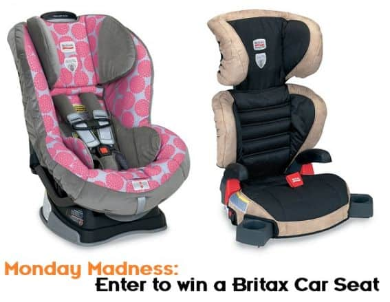 Enter to Win a Britax Car Seat