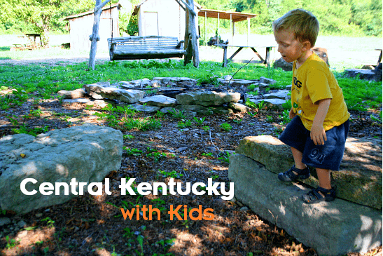 Central Kentucky isn't just about bourbon. There is actually a lot to do with kids!