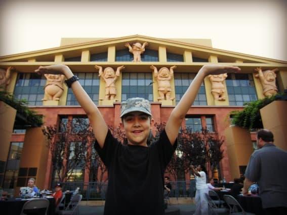 Kid friendly Hollywood: Disney Legends Plaza