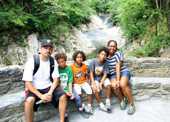 Family friendly Virginia: Natural Bridge Virginia Hiking