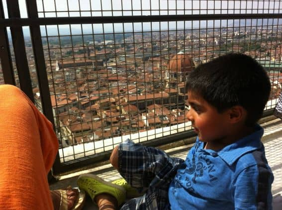 Florence, Italy with kids