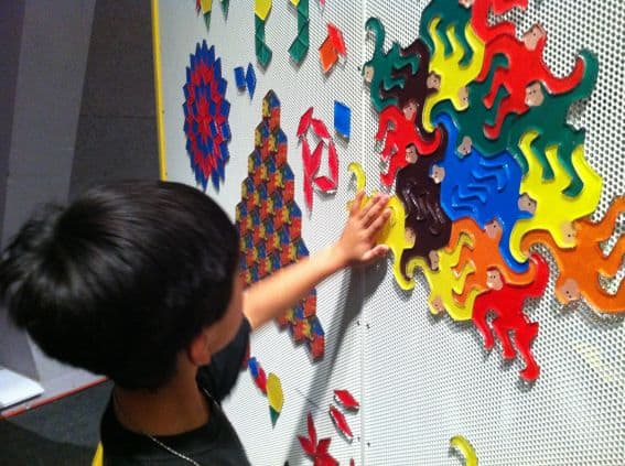 kid friendly math: Math Midway Exhibit