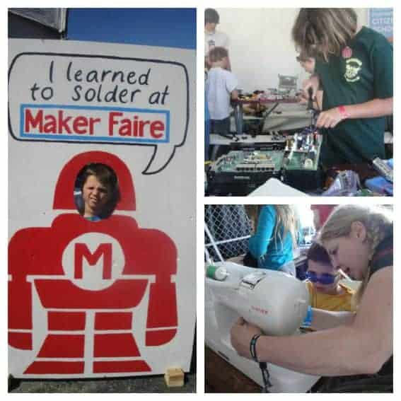 Maker Faire Collage Trekaroo Family Friendly Activities