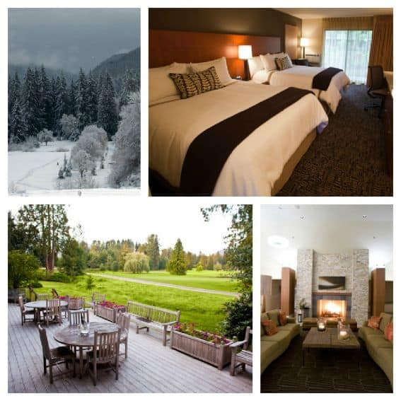 Kid friendly Lodging in Mt. Hood: Mt. Hood Resort Mountain General Overview