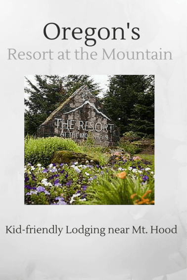 Kid friendly Lodging in Mt. Hood