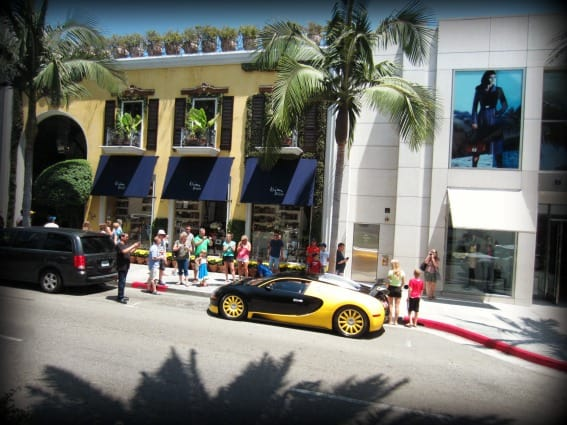 Kid friendly Hollywood: Rodeo Drive