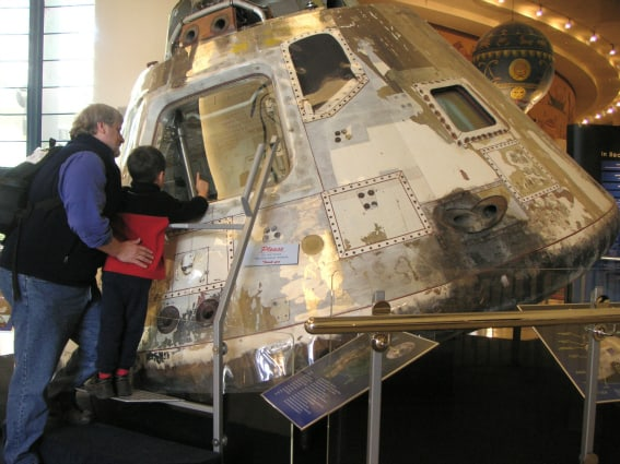 kid friendly museums san diego: San Diego Air & Space Museum in Balboa Park, San Diego
