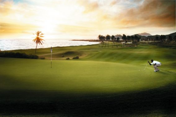 St Kitts golf course Family Travel Giveaway Caribbean