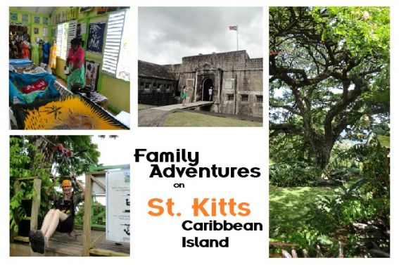St. Kitts Family Vacation Caribbean Island