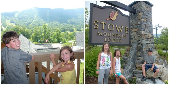 Stowe Mountain Lodge Resort In Vermont With Kids