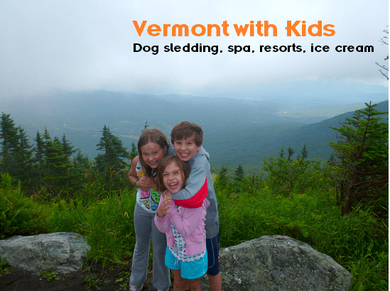 Travel to Vermont with kids for great resorts, spa, dog sledding, llamas, and more outdoor activities.