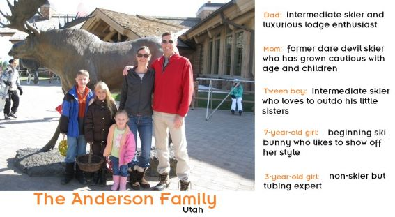 Anderson Family with family bio