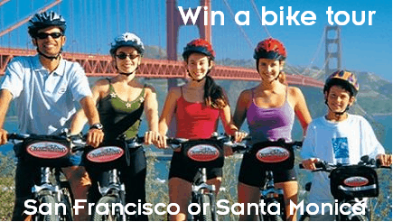 Monday Madness: Win a family bike tour of either San Francisco or Santa Monica from Tours4Fun!