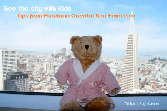 Visiting San Francisco With Kids? Here are recommendations from the Mandarin Oriental San Francisco concierge desk and information regarding the fabulous hotel!