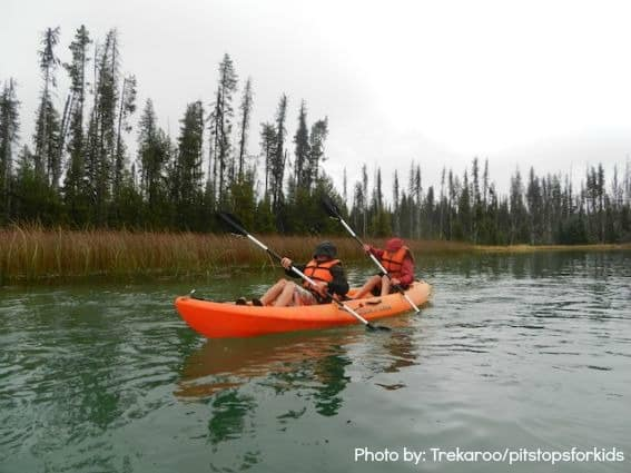 Boys Kayaking Wanderlust Tours
