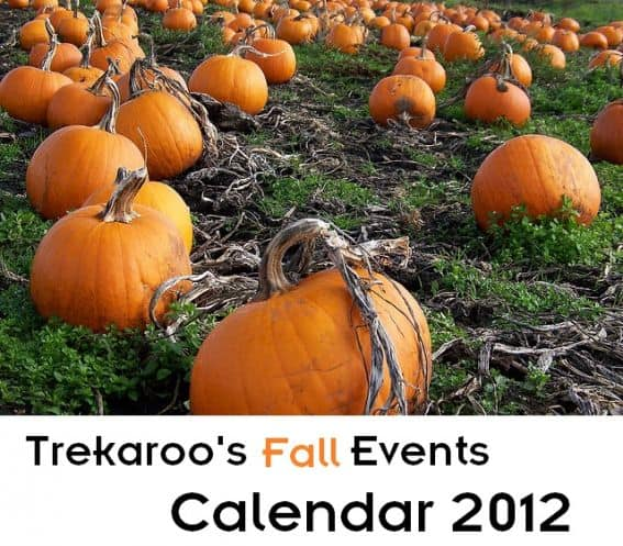 Trekaroo Fall Family Events