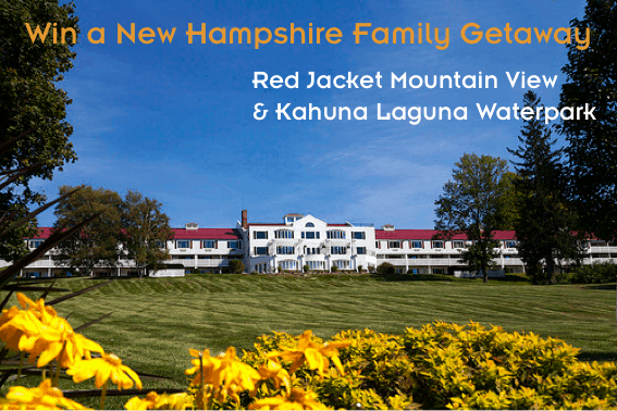 Win a New Hampshire Family Getaway - 2 nights at Red Jacket Mountain View Resort and Admission to Laguna Kahuna Waterpark