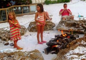 Sandpearl Resort Kids Beach S'mores