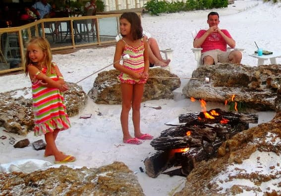 Sandpearl Resort Kids Beach S'mores