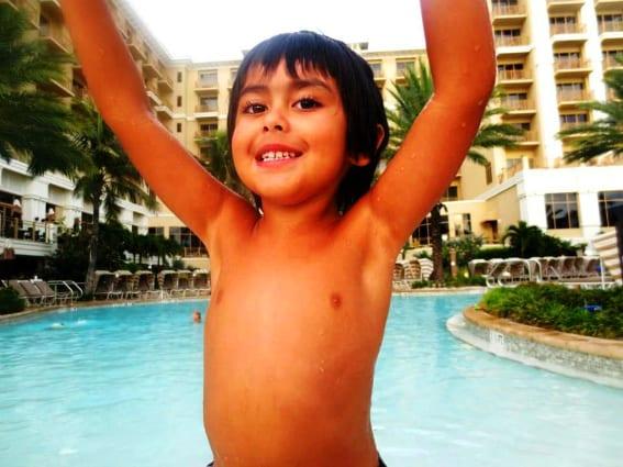 Sandpearl Resort Pool With Kids
