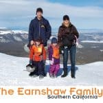 The Earnshaw Family with family bio