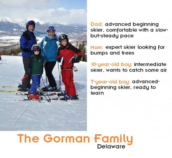 The Gorman Family with family bio