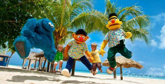 Beaches Negril Sesame Street parade