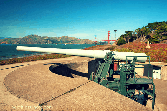 Presidio of San Francisco military history