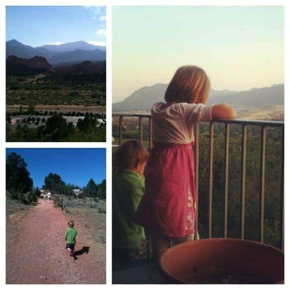 Colorado Springs Garden of the Gods Kid Friendly Activities