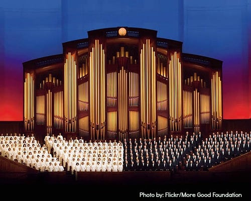 Mormon Tabernacle at Christmas in Salt Lake City- Great Holiday Attraction