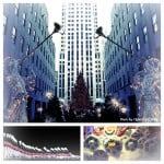 NYC Christmas Collage