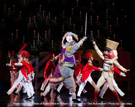 Nutcracker at Christmas in Salt Lake City- Great Holiday Attraction