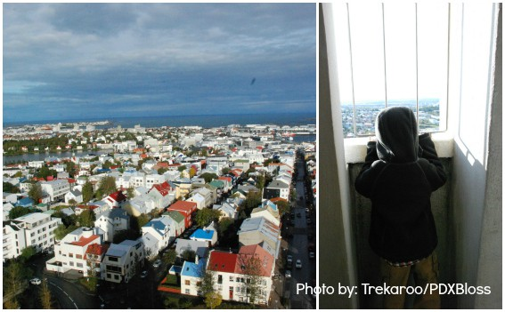 Reykjavik Iceland With Kids View