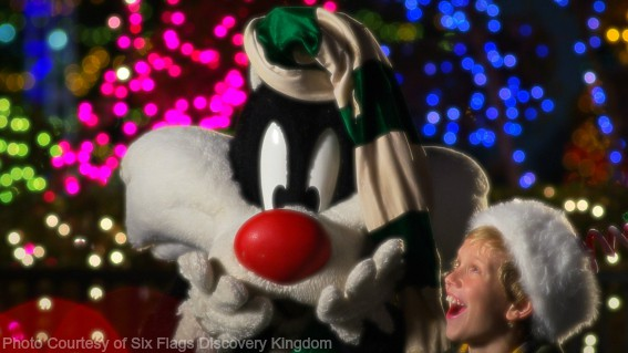 Sylvester: Photo Courtesy of Six Flags Discovery Kingdom