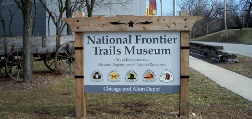 things to do in KC include visiting the National Frontier Trails Museum