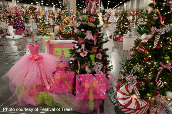Festival of Trees in Salt Lake City- Top Ten Holiday Events to enjoy with kids in Salt Lake City