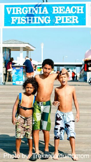 Virginia Beach in the Fall with Kids: Virginia Beach Fishing Pier