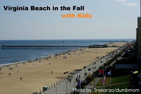 Virginia Beach in the Fall with Kids