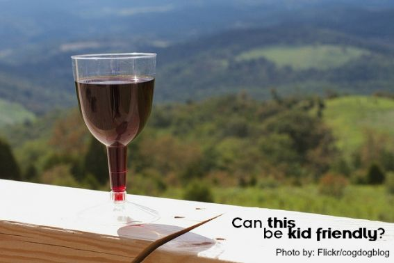 Wine Tasting- Is it Kid Friendly?  We say yes!