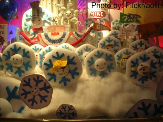 Fifth-avenue Christmas Window-Display Photo new-york-city with kids christmas