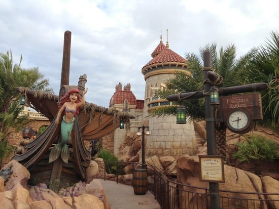 Little Mermaid Magic Kingdom new fantasyland at magic kingdom